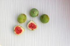 Fundo dos frutos frescos com figos Foto de Stock