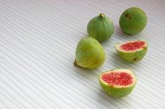 Fundo dos frutos frescos com figos Imagens de Stock