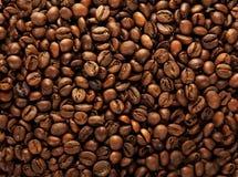Fundo dos grãos de café Fotografia de Stock