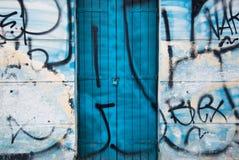 Fundo dos grafittis Fotografia de Stock