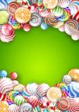 Fundo dos Lollipops Imagens de Stock