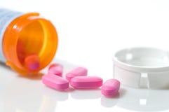 Fundo dos medicamentos de venta com receita Imagem de Stock Royalty Free