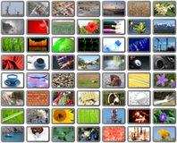 Fundo dos multimédios Imagem de Stock
