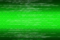 Fundo dos números binários da matriz Fotografia de Stock