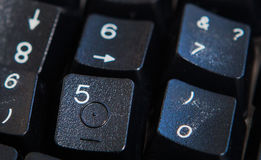 Fundo dos números zero a nove Fundo com números Textura dos números Fita de medição correia do medidor Foto de Stock