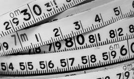 Fundo dos números zero a nove Fundo com números Textura dos números Fita de medição correia do medidor Imagem de Stock Royalty Free