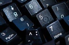 Fundo dos números zero a nove Fundo com números Textura dos números Fita de medição correia do medidor Fotos de Stock Royalty Free