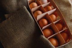 Fundo dos ovos Foto de Stock