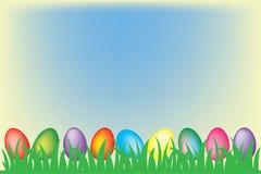 Fundo dos ovos de Easter Fotos de Stock Royalty Free