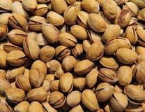 Fundo dos pistachios Fotos de Stock Royalty Free
