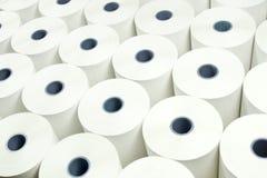 Fundo dos rolos de papel foto de stock