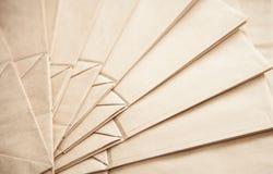 Fundo dos sacos de papel Imagem de Stock