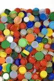 Fundo dos tampões de garrafa Imagem de Stock Royalty Free