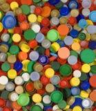 Fundo dos tampões de garrafa Fotos de Stock