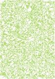 Fundo dos triângulos e de linhas retas Ilustração do vetor Verde Fotos de Stock