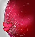 Fundo dos Valentim Imagens de Stock Royalty Free