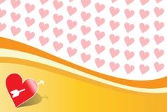 Fundo dos Valentim Foto de Stock Royalty Free