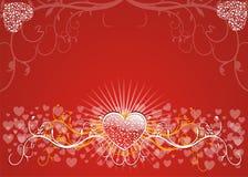 Fundo dos Valentim Foto de Stock