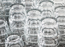 Fundo dos vidros bebendo Imagem de Stock