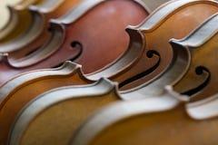 Fundo dos violinos Fotos de Stock Royalty Free