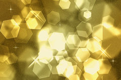 Fundo dourado Foto de Stock Royalty Free