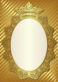Fundo dourado Fotografia de Stock Royalty Free