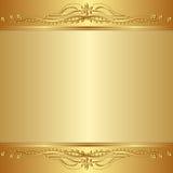 Fundo dourado Fotos de Stock