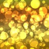 Fundo dourado abstrato Foto de Stock