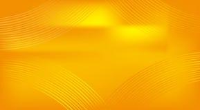 Fundo dourado abstrato da curva Fotografia de Stock