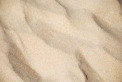 Fundo dourado da areia Foto de Stock