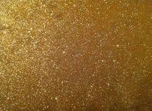 Fundo dourado da poeira Imagem de Stock