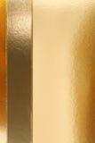 Fundo dourado da textura Foto de Stock