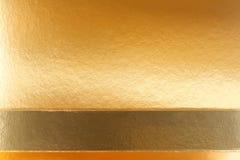Fundo dourado da textura fotografia de stock royalty free