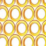 Fundo dourado do anel Imagem de Stock