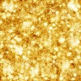 Fundo dourado do Natal Foto de Stock Royalty Free