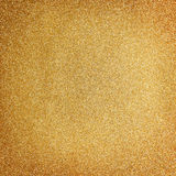Fundo dourado do Natal do glitter Foto de Stock Royalty Free