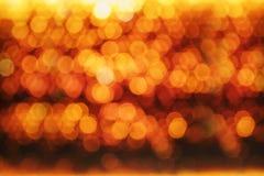 Fundo dourado, preto e amarelo do círculo Fotografia de Stock Royalty Free