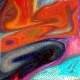 Fundo e bolhas abstratos Foto de Stock