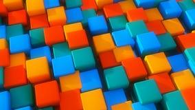 Fundo e cores abstratos Fotos de Stock Royalty Free