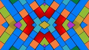Fundo e cores abstratos Foto de Stock