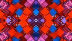 Fundo e cores abstratos Imagem de Stock