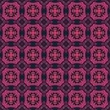 Fundo e textura abstratos geométricos do teste padrão ilustração stock