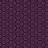 Fundo e textura abstratos geométricos do teste padrão ilustração royalty free