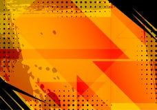 Fundo e textura alaranjados do Grunge Imagem de Stock