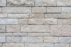 Fundo e textura brancos amarelos da parede de tijolos do arenito Fotografia de Stock