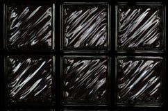 Fundo e textura de cristal pretos fotos de stock