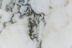 Fundo e textura de mármore brancos para o teste padrão do projeto Foto de Stock