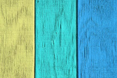 Fundo e textura de madeira do vintage com pintura da casca Fotos de Stock Royalty Free