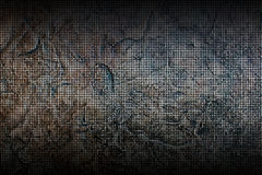fundo e textura oxidados do metal da malha Fotos de Stock