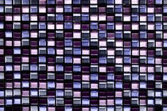 Fundo e textura quadrados abstratos do mosaico do pixel Imagem de Stock Royalty Free